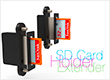alt Holder for extender SD Card