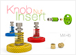 Knob for Insert Nut M4 H5