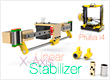 alt   Linear X-Axis Stabilizer for Prusa i4