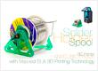 alt Solder Spool Holder with Masked SLA 3D Printing Technology